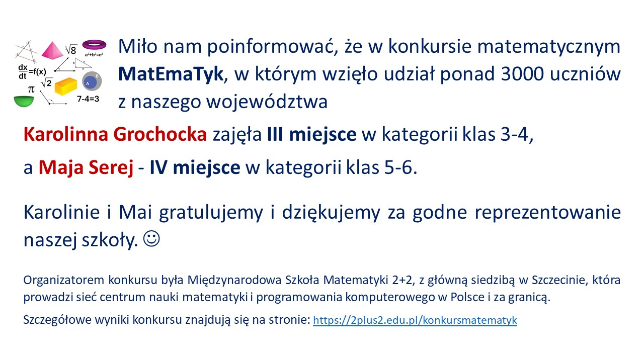 Sukces w MatEmaTyk