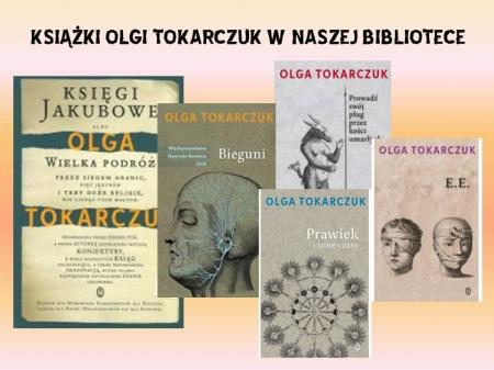 OLGA TOKARCZUK LAUREATKA NAGRODY NOBLA
