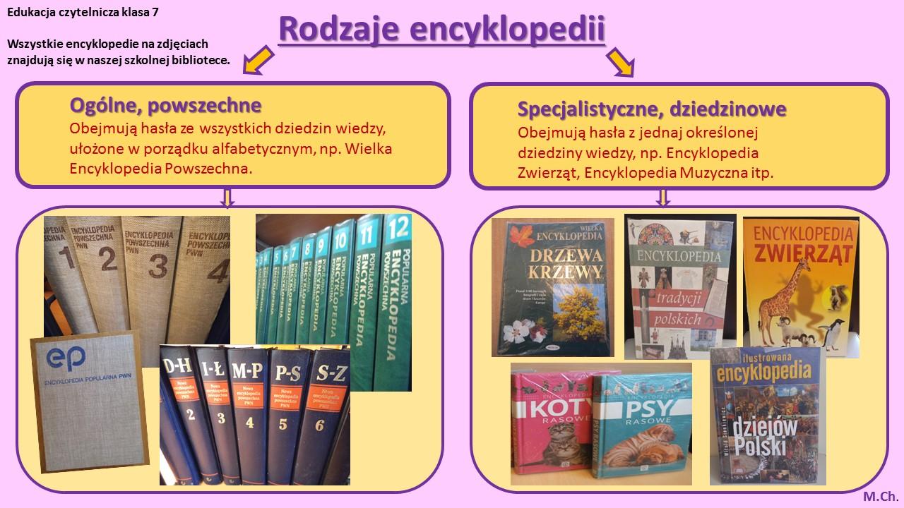 Rodzaje encyklopedii