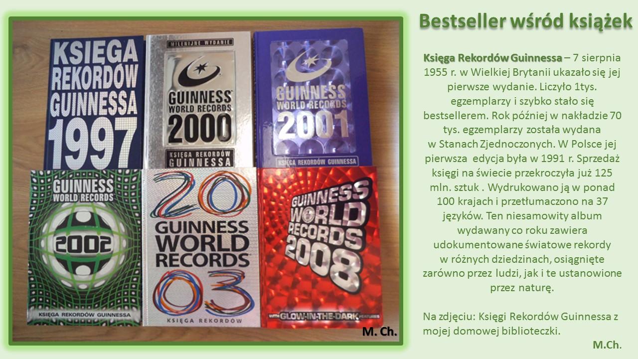 Bestseller wśród książek