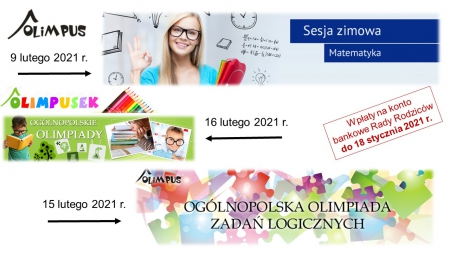 Olimpiada matematyczna, zadań logicznych i zintegrowana