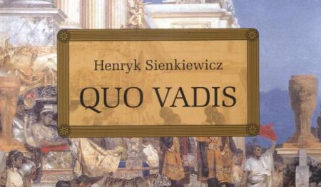 Quo vadis - test ze znajomości lektury
