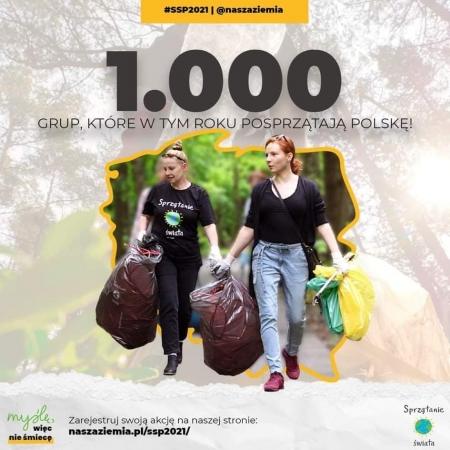 28. Akcja Sprzątanie Świata - Polska 2021