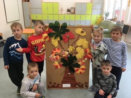 Jesienna twórczość dziecięca